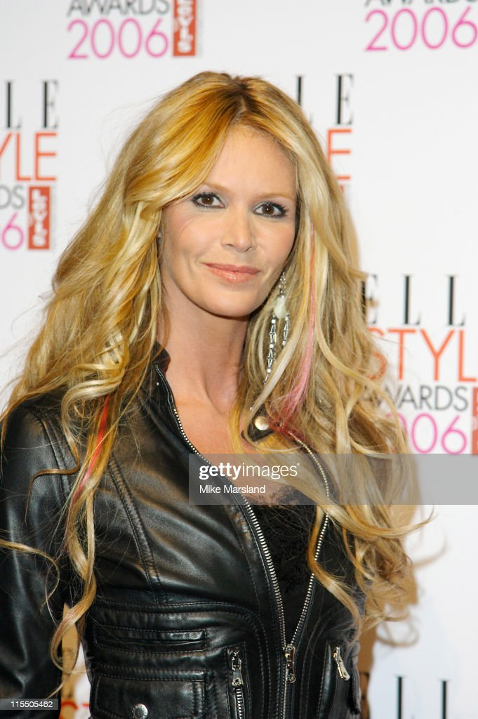 Elle MacPherson during Elle Style Awards 2006 - Inside Arrivals at Old Truman Brewery in London, Great Britain.