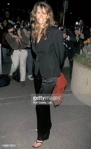 Elle Macpherson during Fundraising Dinner to Benefit Riverkeeper at World Trade Center in New York City New York United States