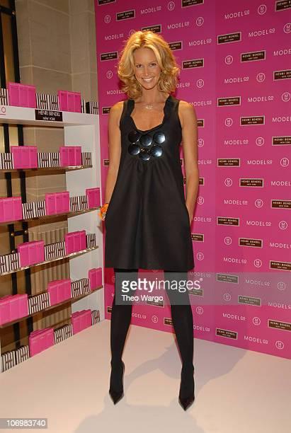 Elle Macpherson during ModelCo Names Supermodel Elle Macpherson as Spokesperson for Erase Those Fine Lines at Henri Bendel in New York City New York...