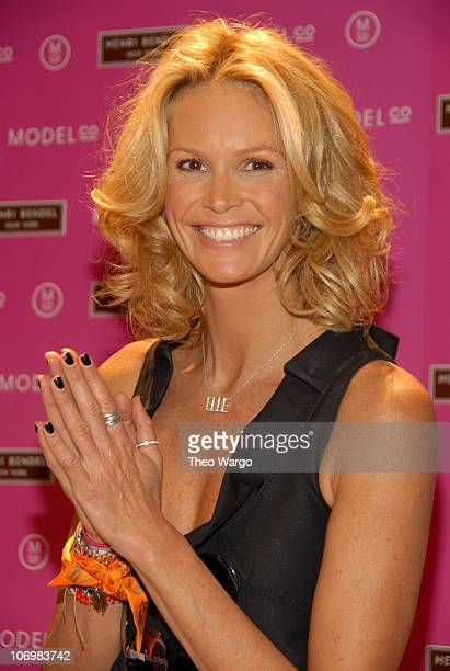 Elle Macpherson during ModelCo Names Supermodel Elle Macpherson as Spokesperson for 'Erase Those Fine Lines' at Henri Bendel in New York City New...