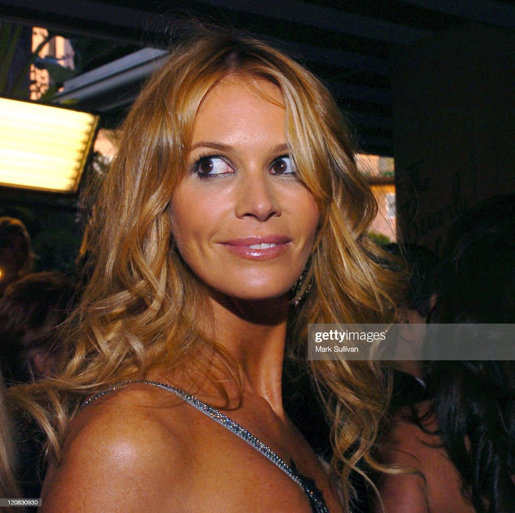 Elle Macpherson during The 15th Annual Night of 100 Stars Oscar Gala - Arrivals at The Beverly Hills Hotel in Beverly Hills, California, United States.