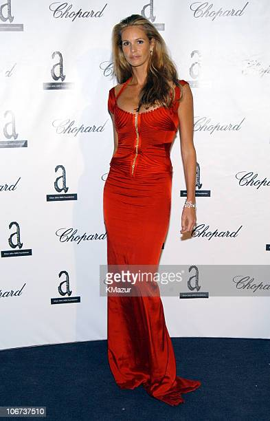 Elle Macpherson during The Fifth Annual White Tie & Tiara Ball to Benefit the Elton John Aids Foundation in Association with Chopard - Arrivals in...