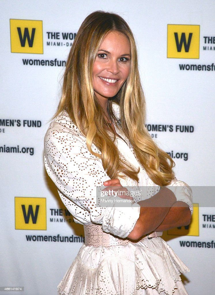 Elle Macpherson Hosts 2015 Power of the Purse Luncheon : News Photo