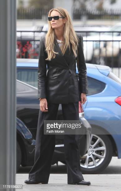 Elle Macpherson is seen at Perth Airport on September 17 2019 in Perth Australia