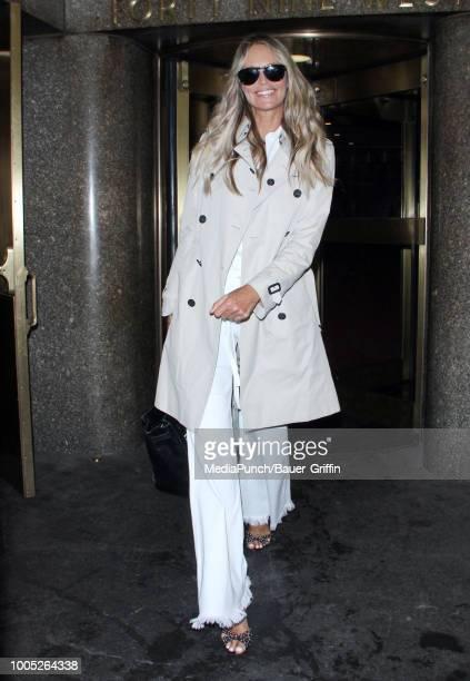 Elle Macpherson is seen on July 25 2018 in New York City