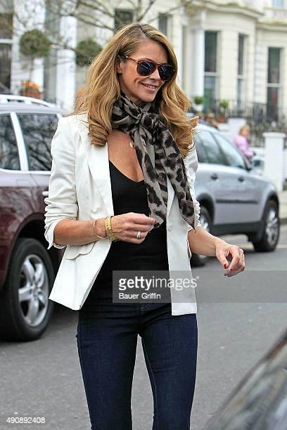 Elle Macpherson is seen on March 22 2011 in London United Kingdom