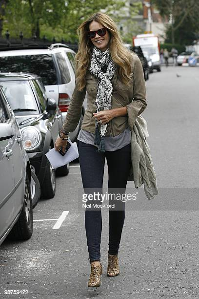 Elle Macpherson Sighting on April 30 2010 in London England