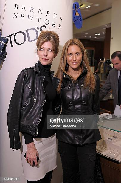 Elle magazine editor in chief Roberta Myers and Cristina Cuomo attend Diego Della Valle's Brand Visionary Award celebrated by Barneys at Barneys New...