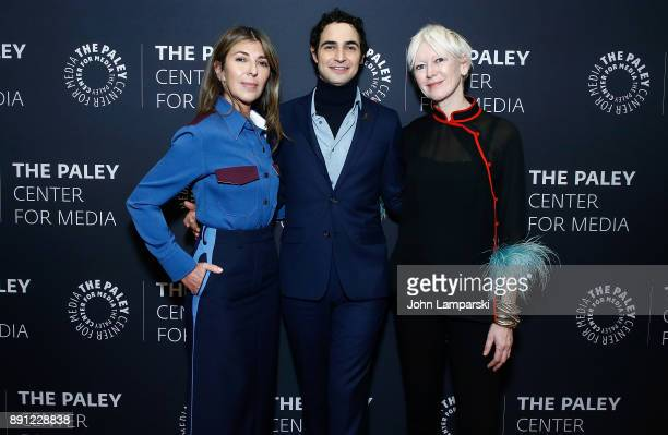 Elle Magazine editorinchief Nina Garcia fashion designer Zac Posen and Chief content Officer Hearst Magazines Joanna Coles attend The Paley Center...