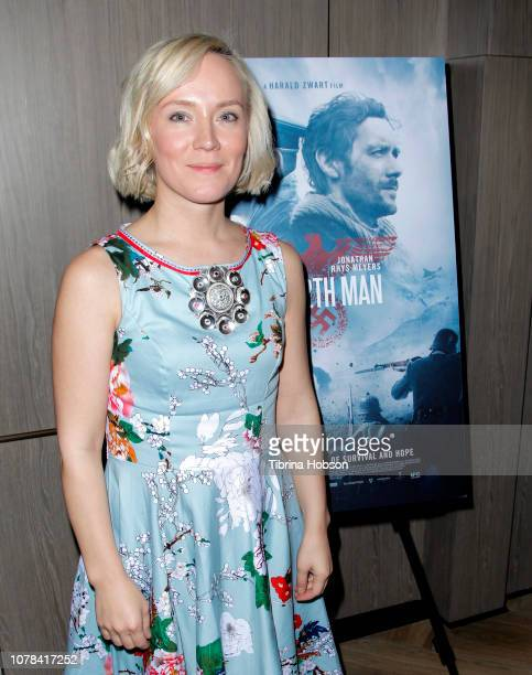 Elle Marja Eira attends the AMPAS Los Angeles screening of 'The 12th Man' hosted by Princess Märtha Louise of Norway at Cinepolis Pacific Palisades...