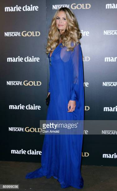 Elle McPherson arrives for the 2009 Prix de Marie Claire Awards at the Royal Hall of Industries on April 16 2009 in Sydney Australia