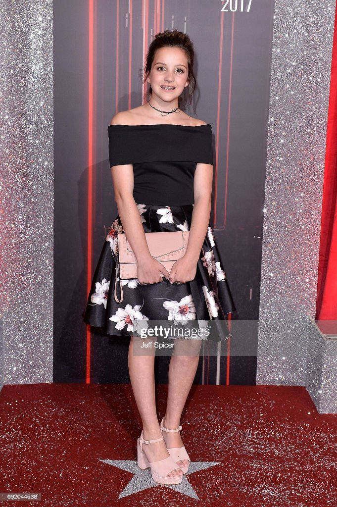 Elle Mulvaney attends The British Soap Awards at The Lowry Theatre on June 3, 2017 in Manchester, England. The Soap Awards will be aired on June 6 on ITV at 8pm.