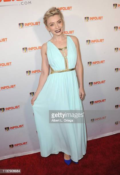 Elle Sonnet arrives for PreOscar Soiree Hosted By INFOListcom and Birthday Celebration for Founder Jeff Gund held at SkyBar at the Mondrian Los...