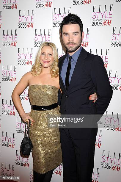 Elle Style Awards Westway Centre London Britain 12 Feb 2008 Heidi Range And Dave Berry