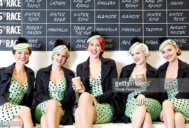 Elle The Pocket Belles on day two of the Qatar Goodwood Festival at Goodwood Racecourse on July 29 2015 in Chichester England