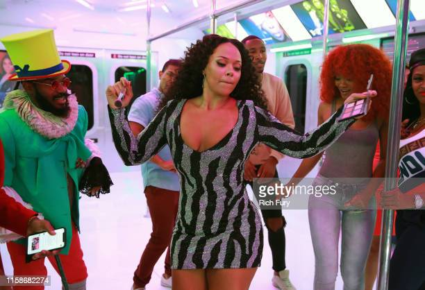 Elle Varner attends the InstaCarpet during the BET Awards 2019 at Microsoft Theater on June 23 2019 in Los Angeles California