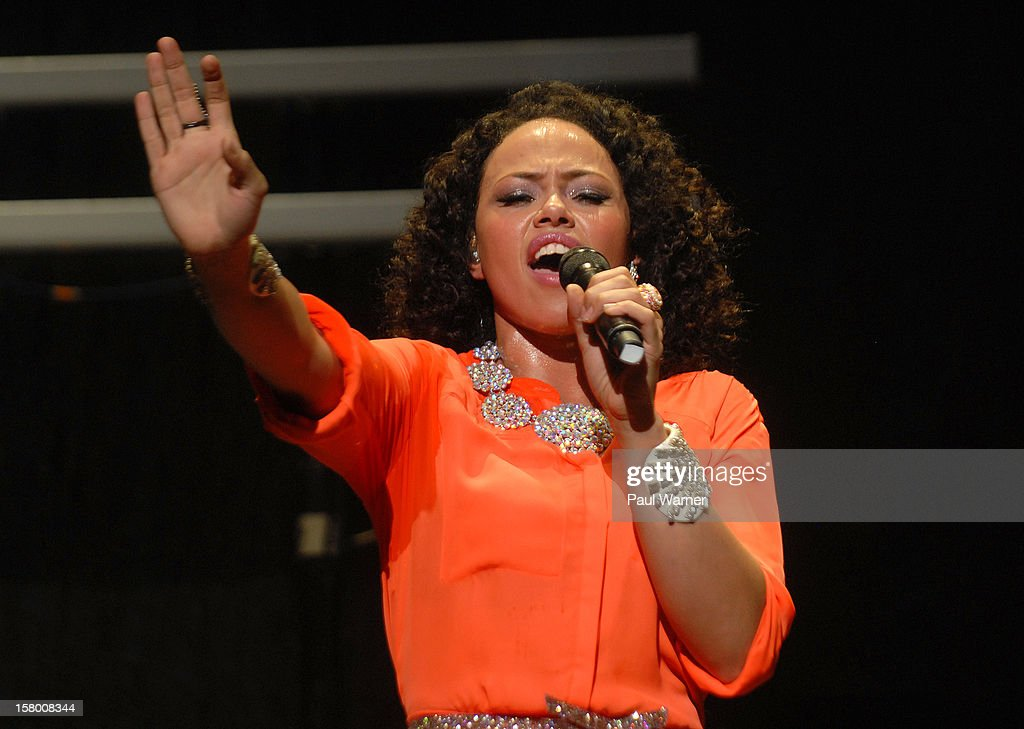 Elle Varner performs in concert at Fox theater on December 7, 2012 in Detroit, Michigan.