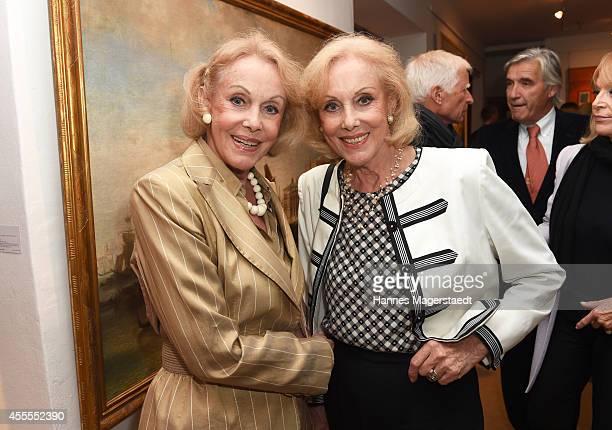 Ellen and Alice Kessler attend the Dorotheum Munich Hosts Cocktail Reception on September 16 2014 in Munich Germany