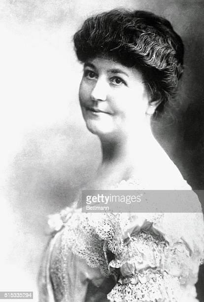 Ellen Axon Wilson wife of Woodrow Wilson 28th President of the United States and at the time of the photo Governor of New Jersey