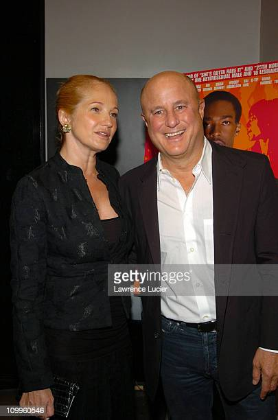 Ellen Barkin and Ron Perelman during She Hate Me New York Premiere - Arrivals at Loews Astor Plaza in New York, NY, United States.