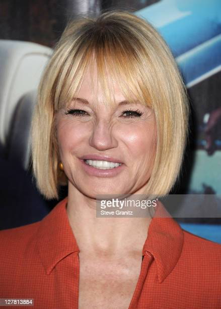 Ellen Barkin attends HBO's His Way Los Angeles Premiere at Paramount Theater on the Paramount Studios lot on March 22 2011 in Hollywood California