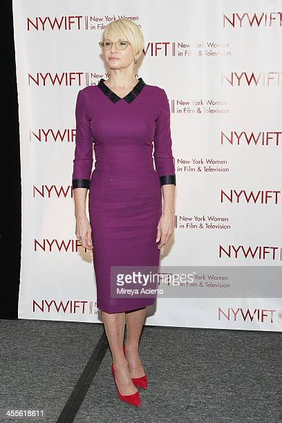 Ellen Barkin attends New York Women In Film And Television's 33rd Annual Muse Awards at New York Hilton on December 12, 2013 in New York City.