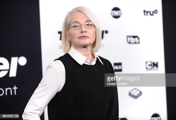 Ellen Barkin attends the 2017 Turner Upfront at Madison Square Garden on May 17 2017 in New York City