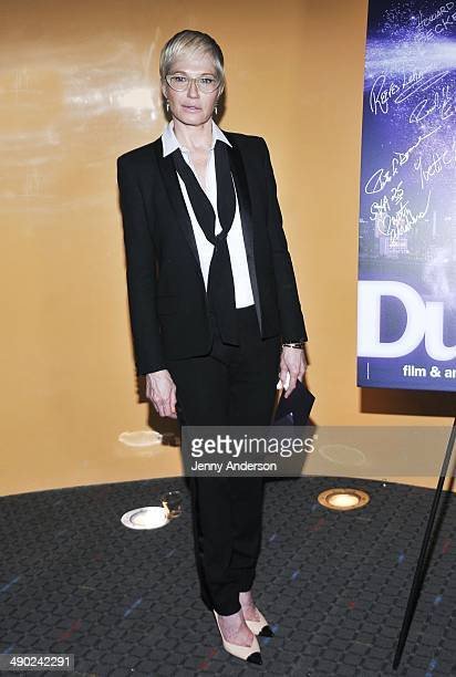 Ellen Barkin attends the 25th Annual Dusty Film And Animation Festival awards ceremony at SVA Theater on May 13 2014 in New York City