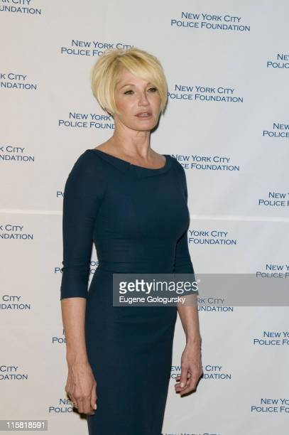 Ellen Barkin attends The 30th Annual New York City Police Foundation Gala March 11 2008 at the Waldorf Astoria in New York City