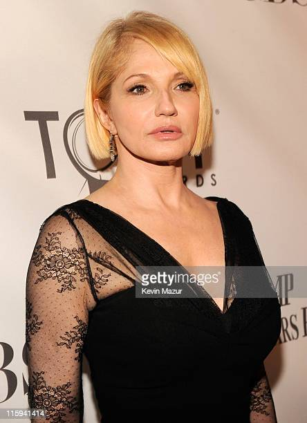 Ellen Barkin attends the 65th Annual Tony Awards at the Beacon Theatre on June 12 2011 in New York City