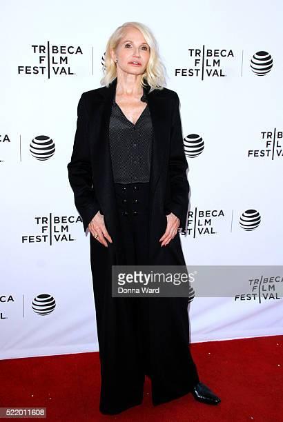 "Ellen Barkin attends the ""Animal Kingdom"" Screening at SVA Theatre 1 on April 17, 2016 in New York City."