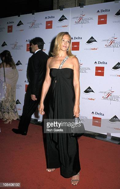 Ellen Barkin during 2000 Avery Fisher American Fashion Awards at Lincoln Center in New York City New York United States