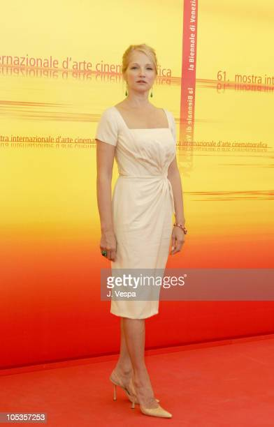 Ellen Barkin during 2004 Venice Film Festival 'Palindromes' Photo Call at Casino in Venice Italy