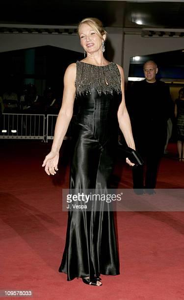 Ellen Barkin during 2004 Venice Film Festival 'Palindromes' Premiere at Palazzo del Cinema in Venice Lido Italy