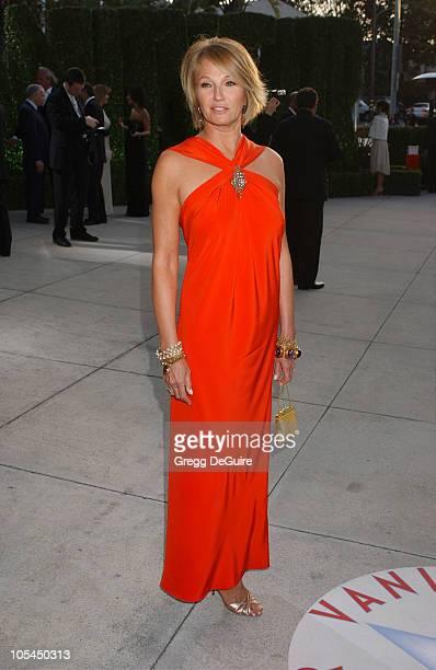 Ellen Barkin during 2005 Vanity Fair Oscar Party - Arrivals at Mortons in Los Angeles, California, United States.