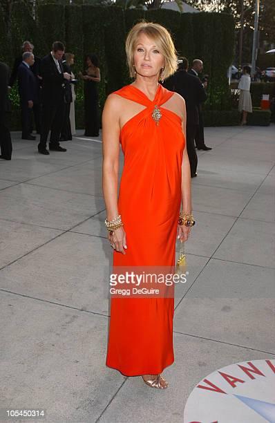 Ellen Barkin during 2005 Vanity Fair Oscar Party Arrivals at Mortons in Los Angeles California United States