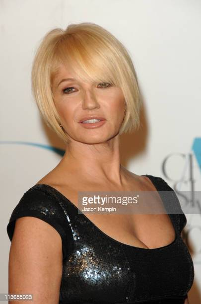 Ellen Barkin during 2007 CFDA Fashion Awards - Red Carpet at New York Public Library in New York City, New York, United States.
