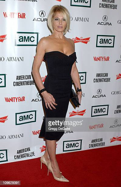 Ellen Barkin during 21st Annual American Cinematheque Award Honoring George Clooney - Arrivals at Beverly Hilton Hotel in Beverly Hills, California,...