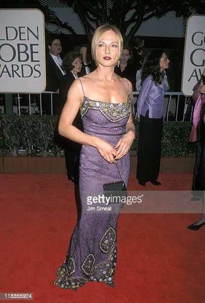 Ellen Barkin during 55th Annual Golden Globe Awards at Beverly Hilton Hotel in Beverly Hills, California, United States.