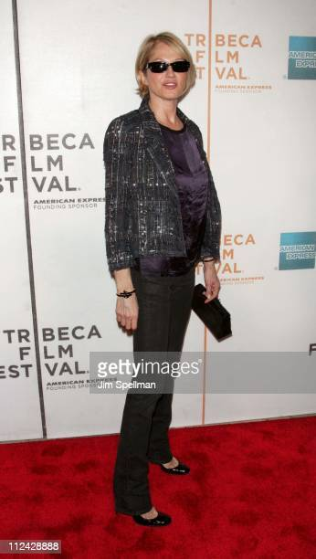 """Ellen Barkin during 5th Annual Tribeca Film Festival - """"Wah-Wah"""" Premiere and Reception at TPAC and Brandy Library in New York City, New York, United..."""