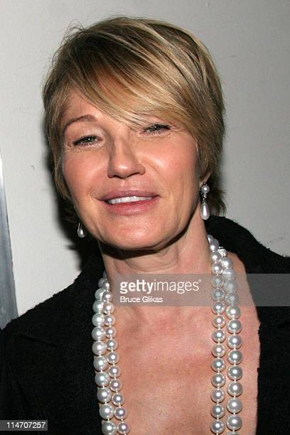 """Ellen Barkin during """"A Touch of The Poet"""" Opening Night - After Party at Millennium Hotel in New York, New York, United States."""