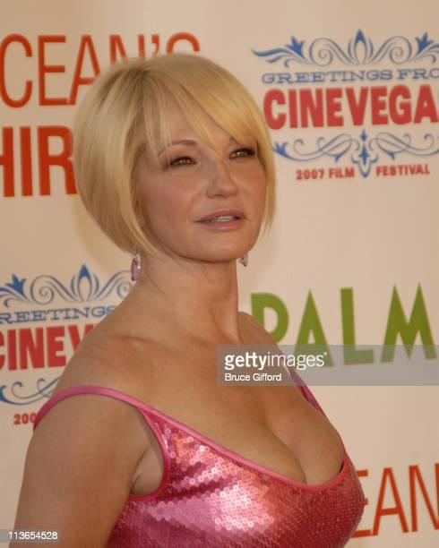 Ellen Barkin during CineVegas Film Festival Opening Night Screening of Ocean's Thirteen Arrivals at Palms Casino Resort in Las Vegas Nevada United...