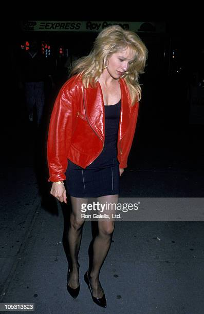 Ellen Barkin during Ellen Barkin Sighting in New York - September 10, 1988 at O'Neal's Restaurant in New York City, New York, United States.