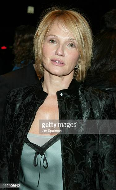 Ellen Barkin during Far From Heaven New York Premiere Arrivals at Beekman Theater in New York City New York United States
