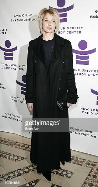Ellen Barkin during New York University Child Study Center Gala at Cipriani December 4 2006 at Cipriani in New York City New York United States