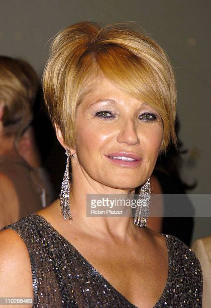 """Ellen Barkin during Opening Night of the 43rd Annual New York Film Festival - """"Good Night, and Good Luck."""" Premiere - Arrivals at Avery Fisher Hall..."""