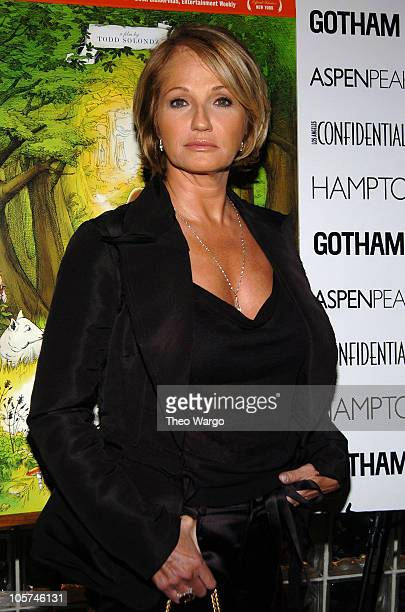 Ellen Barkin during Palindromes New York City Premiere at Chelsea West Theatre in New York City New York United States