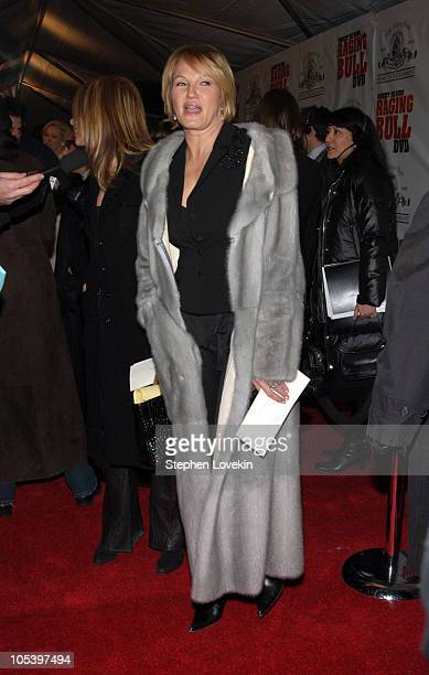 """Ellen Barkin during """"Raging Bull"""" 25th Anniversary and Collector's Edition DVD Release Celebration at Ziegfeld Theatre in New York City, New York,..."""