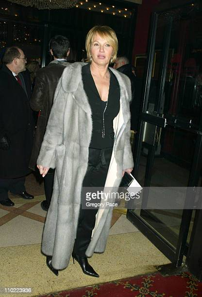 Ellen Barkin during 'Raging Bull' 25th Anniversary and Collector's Edition DVD Release Celebration Inside Arrivals at Ziegfeld Theater in New York...