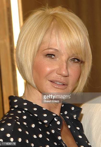 Ellen Barkin during Sarah Jessica Parker and Ellen Barkin Co-Host Opening of Serge Normant at John Frieda at Serge Normant at John Frieda in New York...